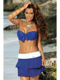 Paplūdimio sijonėlis Mila Blu Persia-Bianco