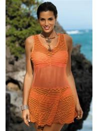 Paplūdimio apranga tunika Vivian Gerbera M-414
